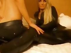 XXX Lesbian Couple in Leather - M talisman videografie