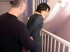 Perverted raven-haired milf gets headed wide with an increment of enjoys it a lot