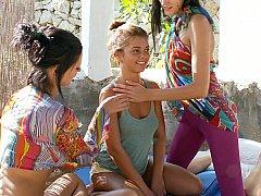 Fresh lesbo teens