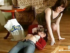 Ethel&Gwendolen mature lesbian movie