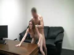 Cute Hotty 1st Time Casting