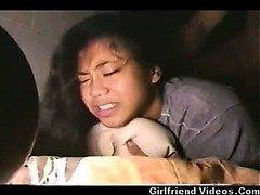 Filipina Teen 1st Time Butt drilling