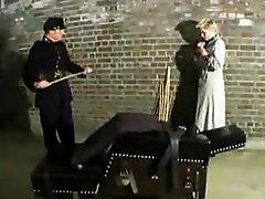 Old school punishment & spank action
