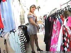 Milf Posing Nude In Public