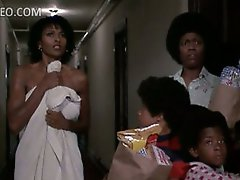 Extremely Beautiful Ebony Star Pam Grier Flashes Her Meaty Knockers