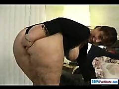 BBW Huge butt Fuck