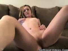 Gamer Girl Masturbating