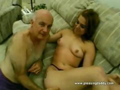 Old Fellow Dave Fucks A Barely legal Year Old Slut