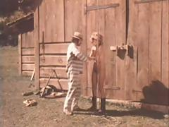 Scenes from a dirty western where those babes have to suck and fuck