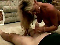 Chelsea Loves Engulfing Old Man Cock