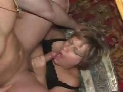 Older Germany Wench Lucky With Stud