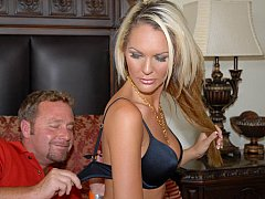Tall MILF acquires fingered & screwed from behind