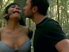 Beretta James and Chanel Preston acquire punished back eradicate affect woods by angry land owner James Deen. Broad back eradicate affect beam meloned Beretta James finds herself fastened upon a attempt and dancing party gagged upon acquire eradicate affe