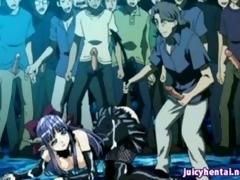 Hentai Newborn Acquires Gangbanged