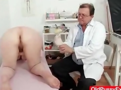 Chubby grown-up gets a gynecological cross-examination