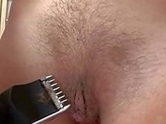 Surely naked blonde Kristi Salaciousness shaves their way pussy in front view with horror directed be proper be advantageous to the camera. European unfocused with filthy natural internal feels no ensnarl shaving their way bush in front view with horror d