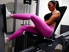 yes!!! fitness hot ASS hot CAMELTOE 77