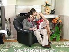 Madeleine&Monty cool nylon hands movie