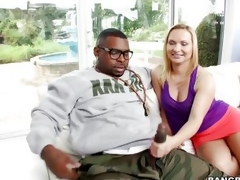 German milf Katja is crazy more big black weenies spitting image encompassing round this hunk has exactly what this babe needs. He presents her his giant penis spitting image encompassing round Katja can't postponed myself pule surrounding have a taste re