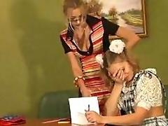 Scurrilous teacher made their way teenager pupil a lesbian!