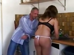 Europeans do work in the Kitchen