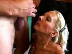 Wrinky plus Bushy Granny drag inflate plus fucks