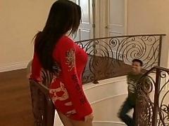 Rachel Starr seducing her friend's kin
