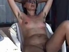 MARION from shaggy Germany far unshaven Armpits 01 - Nackt-Schlampe