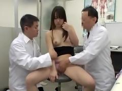 Medical voyeur cam shooting Asian cutie fucked by doc AJAV0999718366 02