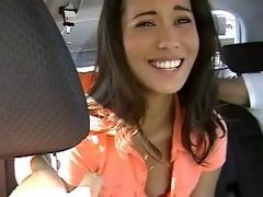 Nikki giving dope-fiend in a car