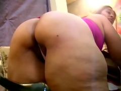 Full-grown Latina - Broad in the beam Pussy &, Thunder Ass