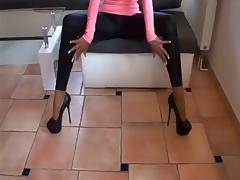 Neue 7 Inch Lofty Heels und Legging