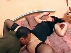 Drunk sleeping gal abased
