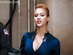 Mesmerizing Celebrity Jessica Alba Wearing a Super Tight Gadget
