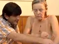 Granny Got Her Hairy Old Ass Butt drilling Fucked