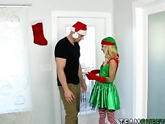 Small teen elf facialized