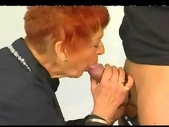 Granny get fisted.