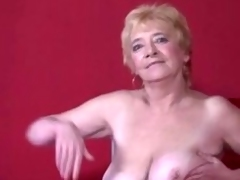 Granny in Nylons Strips added to Widens